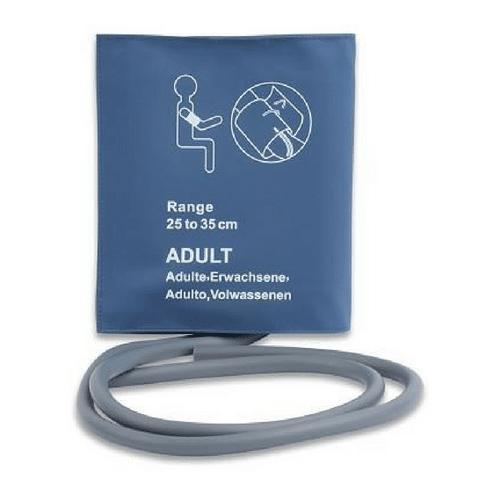 Reusable NIBP Cuff - Adult Single Hose 25-35 cm