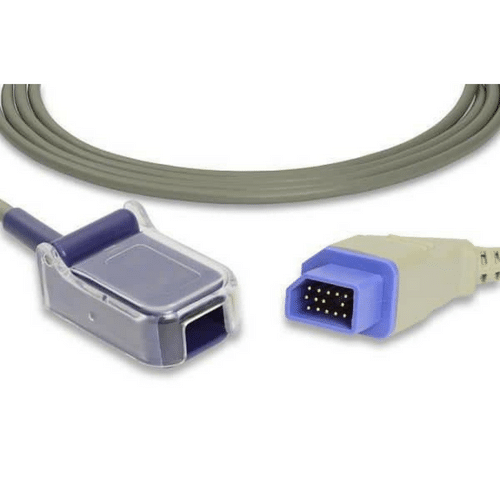 Nihon Kohden Compatible SpO2 Adapter Cable - JL-650P