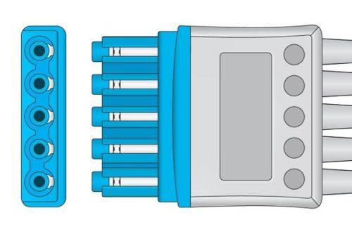 Philips Compatible ECG Leadwire - M1968A 2